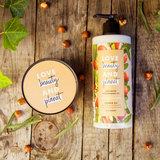 Love Beauty and Planet Shea Butter & Sandalwood luxe geschenkset_