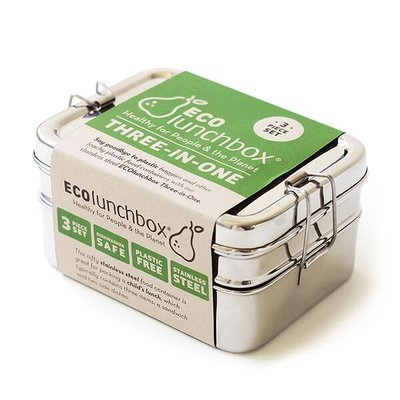 Eco lunchboxes, Lunchbox Three-In-one ( lunchbox is zonder verpakking)
