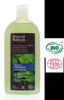 Douce Nature Biologische douchegel 3 mints 300 ml