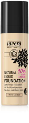 Lavera  foundation honey sand 03 vegan