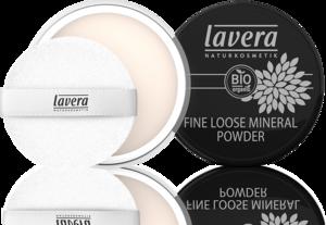 Lavera Fine loose powder transparent vegan