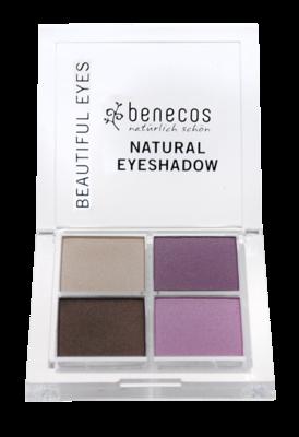 Benecos Oogschaduw beautiful eyes brown/pink vegan
