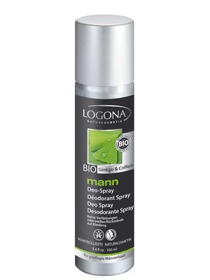 Logona man deodorant spray, vegan