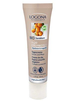 Logona Age protect dagcreme duindoornbes vegan