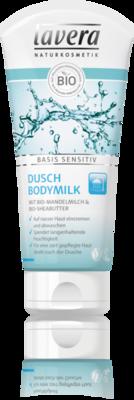 Lavera shower bodymilk sensitive, vegan