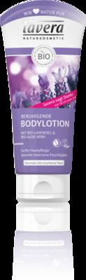 Lavera bodylotion calming lavendel, vegan