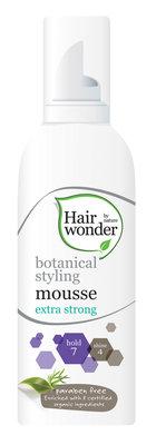 Hairwonder Botanical Styling Mousse – Extra strong