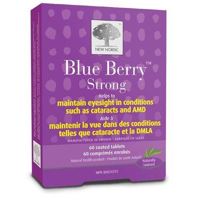 NewNordic Blue berry eyebright, 100% natuurlijk 60 tabletten