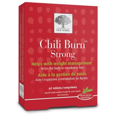 NewNordic Chili burn 100% natuurlijk 120 tabletten