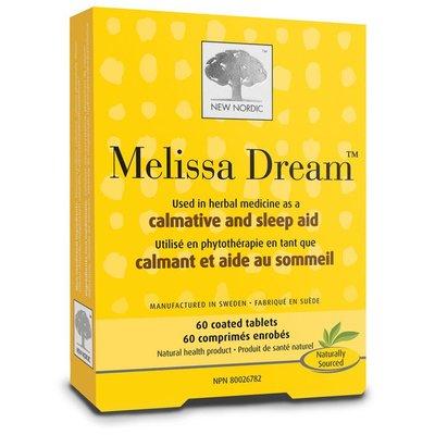 NewNordic Melissa dream 100% natuurlijk 40 tabletten