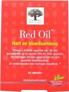 NewNordic Red oil hart en bloedsomloop 100% natuurlijk