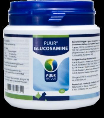 Puur Glucosamine hond & kat, 100% natuurlijk, 100 gram