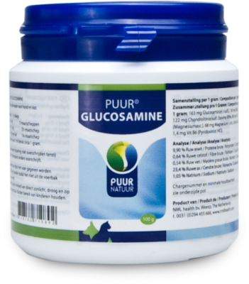 Puur Glucosamine hond & kat, 100% natuurlijk, 300 gram