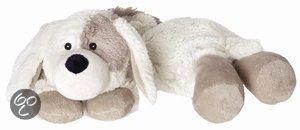 Hot pack warmte knuffel hond lichtbruin
