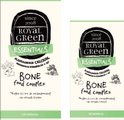 Royal Green Bone Food complex 100% plantaardige calcium & magnesium, 60 tabletten