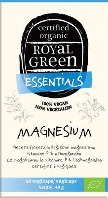 Royal Green Magnesium, gecertificeerd biologisch