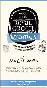 Royal Green Multi man, 60 tabletten