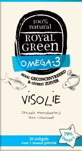 Royal Green. Omega 3 visolie, 60 softgels