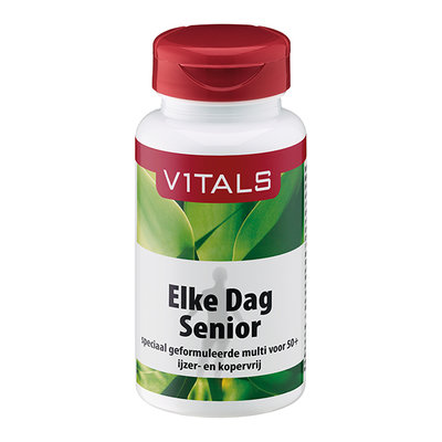 Vitals Elke dag senior, 60 tabletten
