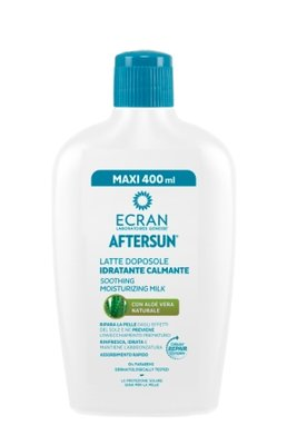 Ecran Aftersun melk hydraterend & kalmerend aloe, 400 ml