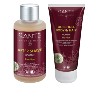 Sante for men I cadeauset, aftershave en douche