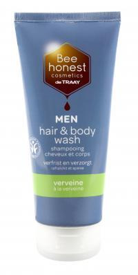 Bee Natural Hair & body wash men verveine
