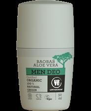 Urtekram Men deodorant roller, vegan
