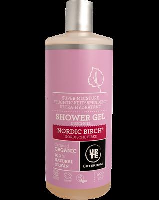 Urtekram Shower gel Nordic birch, 500 ml, vegan