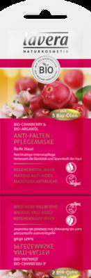 Lavera Mask regenerating cranberry & argan oil, vegan