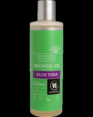 Urtekram,  Aloe vera douchegel, 250 ml, vegan