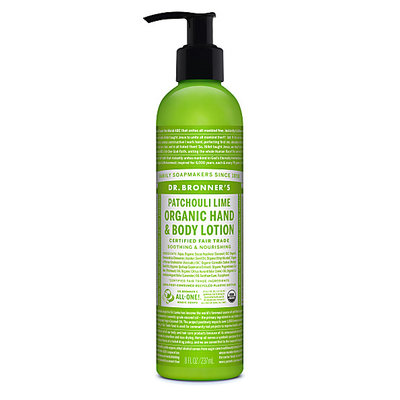 DR Bronners Bodylotion patchouli/lime, vegan