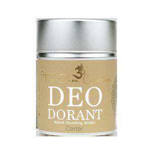 The Ohm Collection, Deodorant poeder ceder, vegan