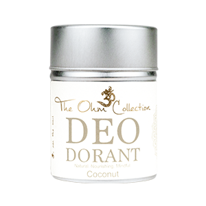 The Ohm Collection, Deodorant poeder kokos, vegan