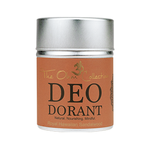 The Ohm Collection, Deodorant poeder sandelwood, vegan