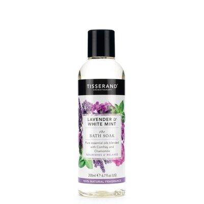 Tisserand, Bath soak lavender white mint
