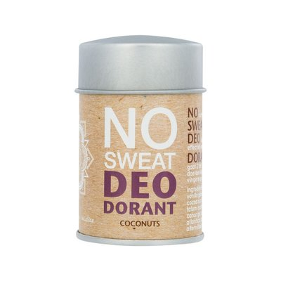 The Ohm Collection Deo Dorant Poeder No Sweat Coconuts, vegan