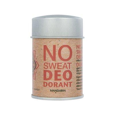 The Ohm Collection Deo Dorant Poeder No Sweat Mandarin, vegan