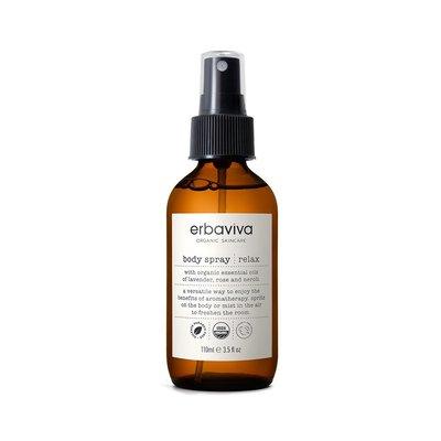 Erbaviva Relax Body Spray, vegan