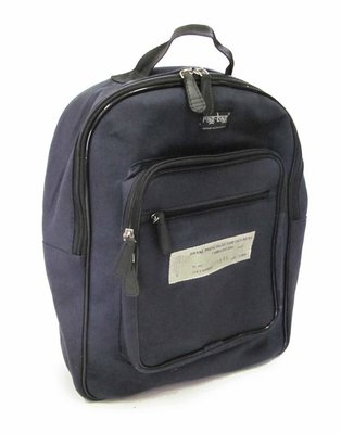Delhi Canvas Backpack, Airforce Blue