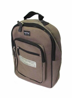 Delhi Canvas Backpack,Airforce Green