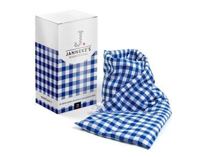Jannekes warmtesjaal, Blauw