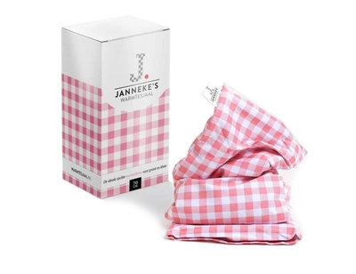 Jannekes warmtesjaal, Roze