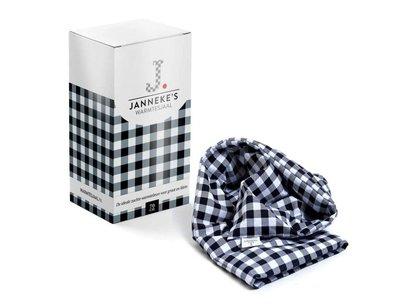 Jannekes warmtesjaal, Zwart