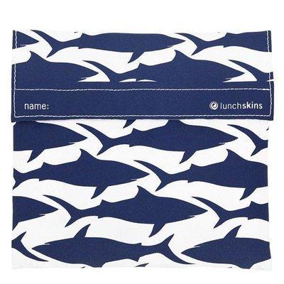 Lunchskin bigbag Navy Shark