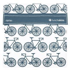 Lunchskin sandwich bag Charcoal bicycle