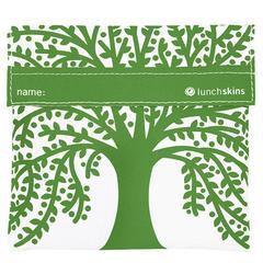 Lunchskin sandwich bag Green tree
