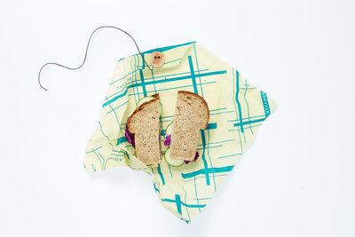 Bee's Wrap sandwichwrap Everybody's Teal