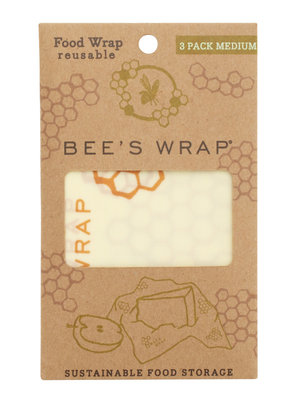 Bee's wrap set van 3 x medium