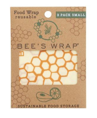 Bee's wrap set van 3 x Small