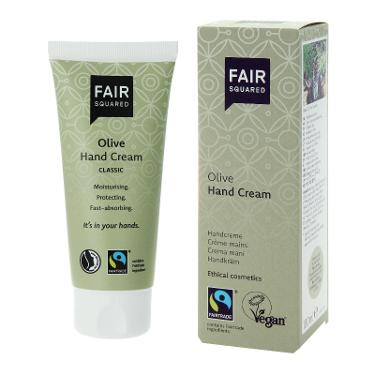 Fair Squared, Hand Cream Classic Olive, vegan